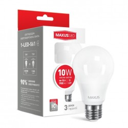 LED лампа MAXUS A60 10W
