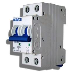 Автоматический выключатель двухполюсный 10А