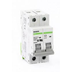 Автоматический выключатель Noark Ex9BS 2P C10