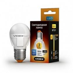 LED лампа VIDEX G45 5W E27