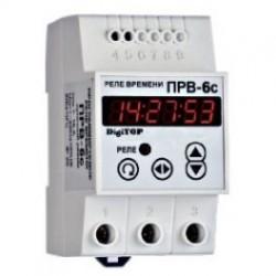 Программируемое реле времени digitop ПРВ-6с (суточный режим)