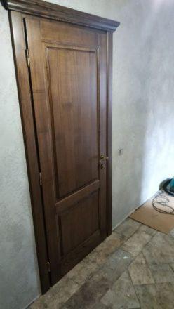 Установка межкомнатной двери в Чернигове